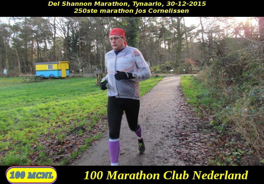 250ste marathon Jos Cornelissen