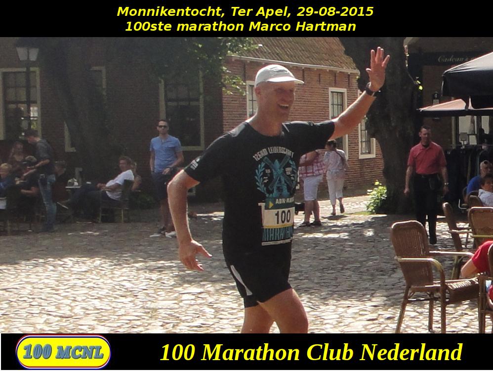 100ste marathon Marco Hartman