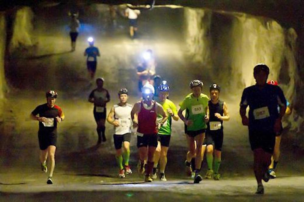 Kristallmarathon, 500 meter onder de grond